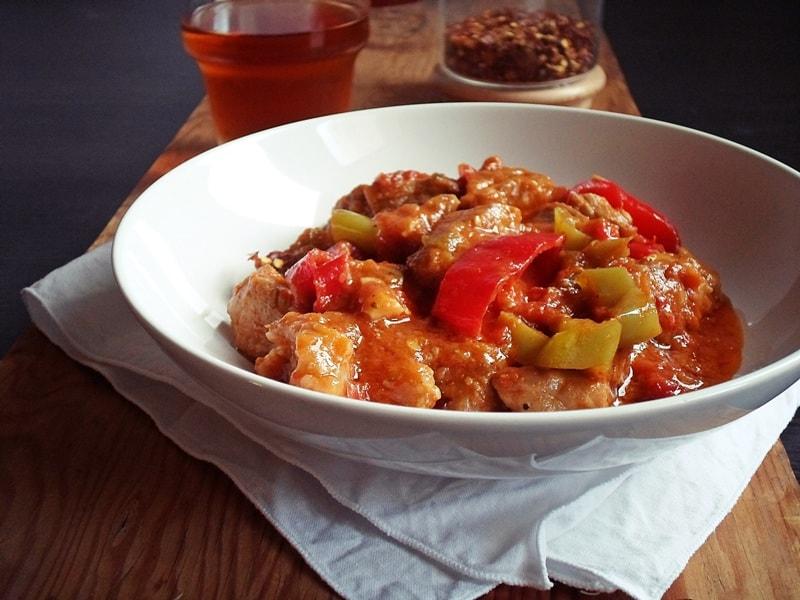 Drunken meat stew (Mpekri/Bekri Meze)