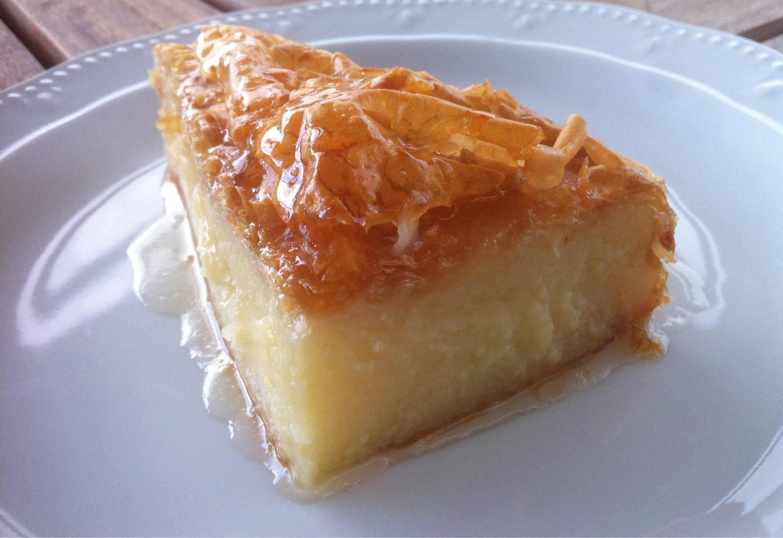 Traditional Greek Galaktoboureko Recipe Greek Custard Pie With Syrup My Greek Dish