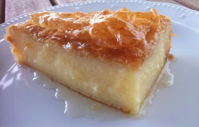 Traditional greek galaktoboureko recipe greek custard pie with traditional greek galaktoboureko recipe greek custard pie with syrup forumfinder Choice Image
