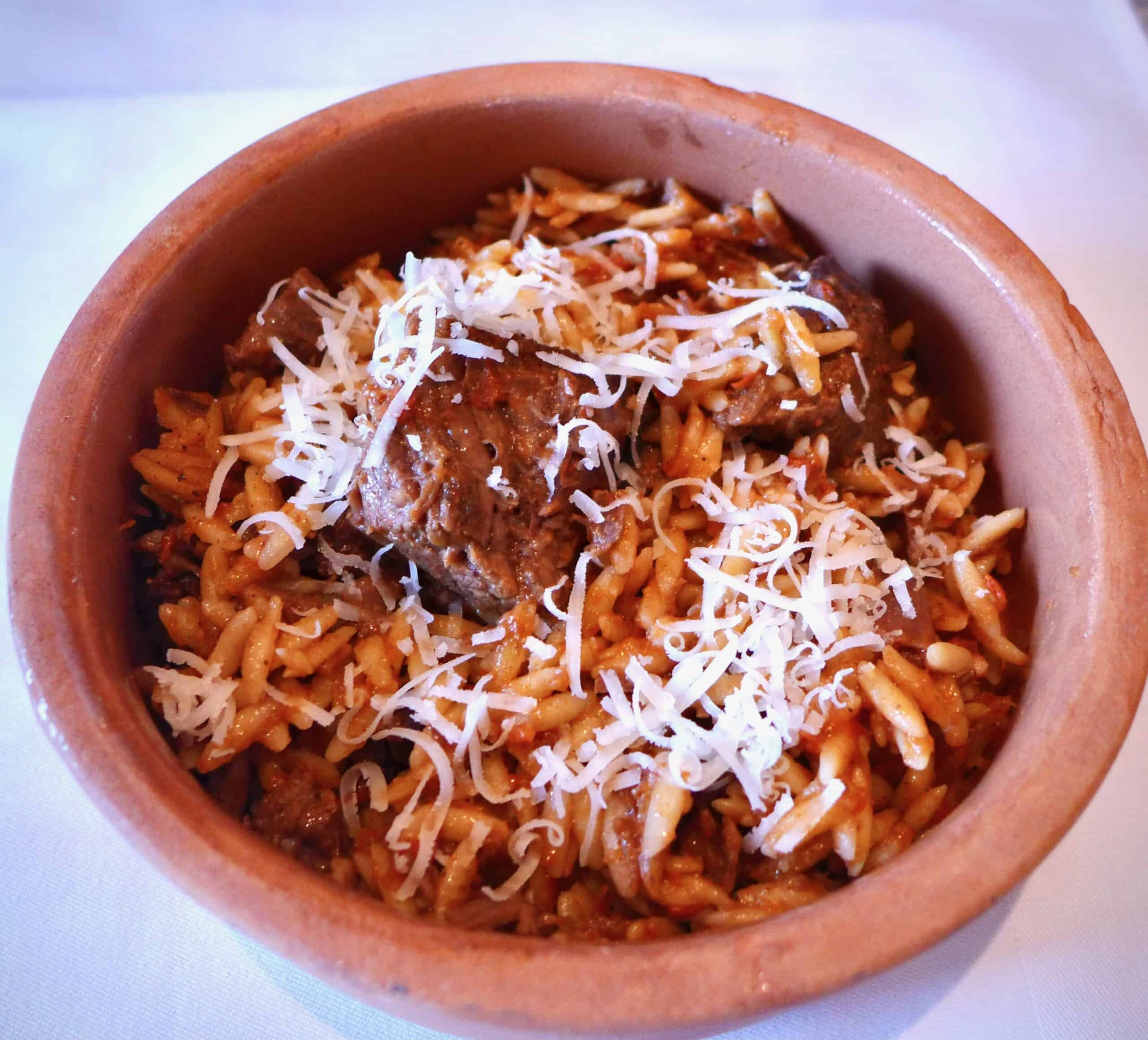 Giouvetsi Recipe Greek Beef Stew With Orzo Pasta My Greek Dish