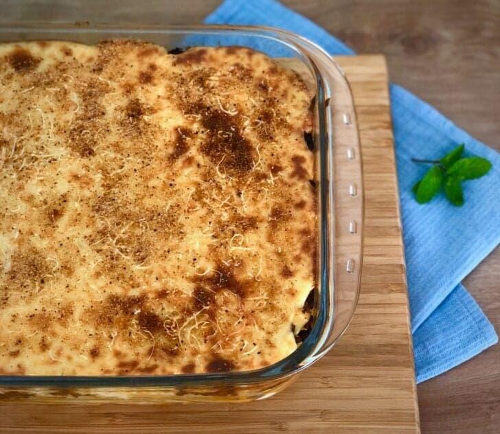 Pastitsio recipe (Greek Lasagna with Béchamel sauce)