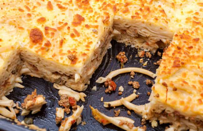 Greek Pastitsio recipe