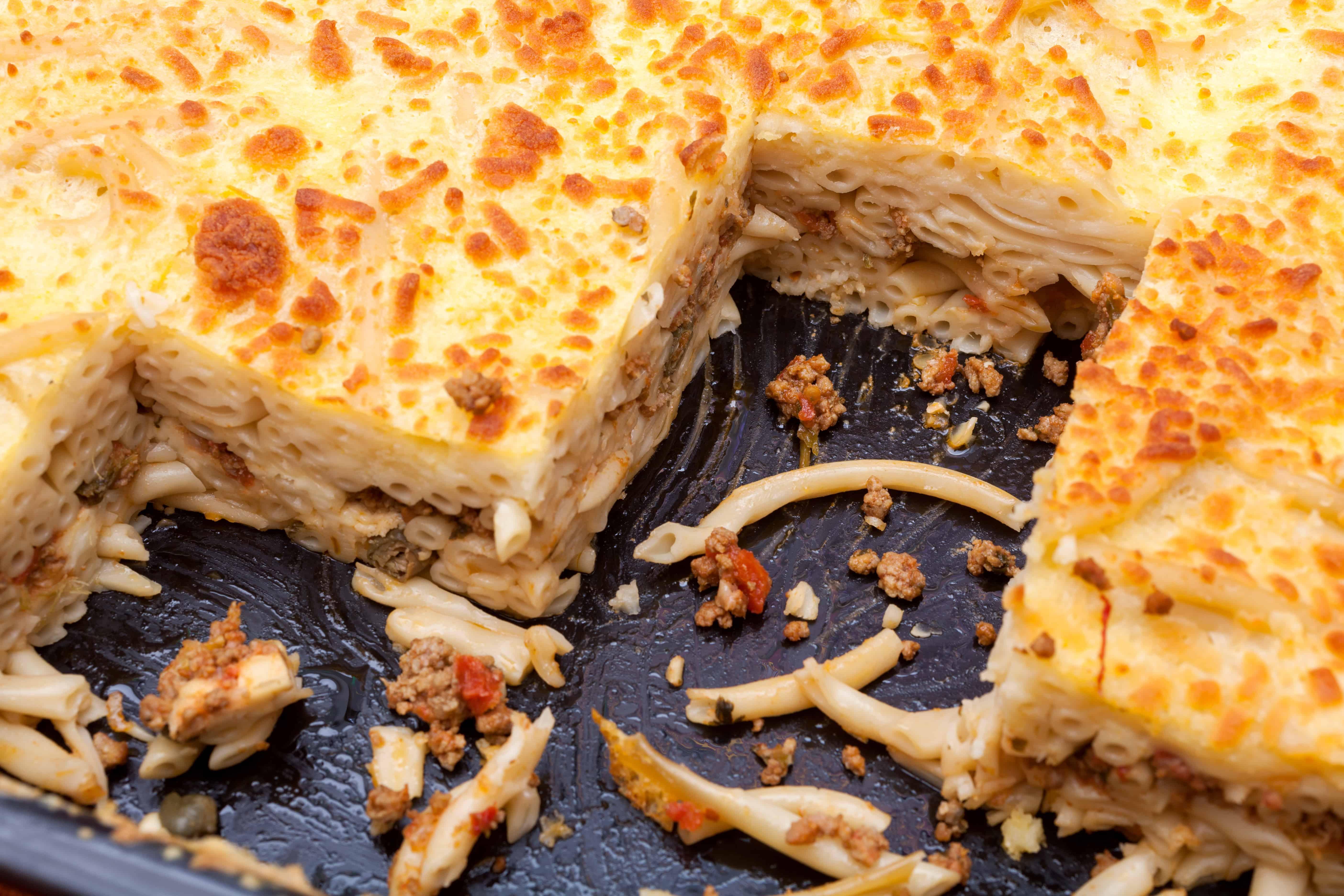 Greek Pastitsio recipe