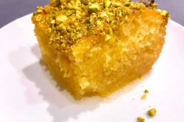 Greek Ravani (Revani) recipe