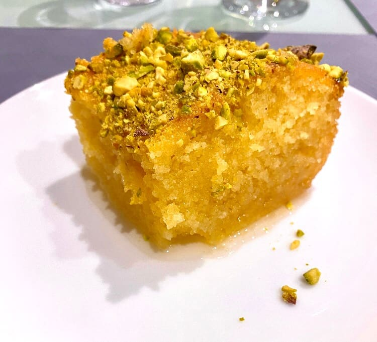 Greek Ravani (Revani) recipe