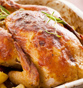 Greek Roast Chicken recipe (Kotopoulo sto fourno)