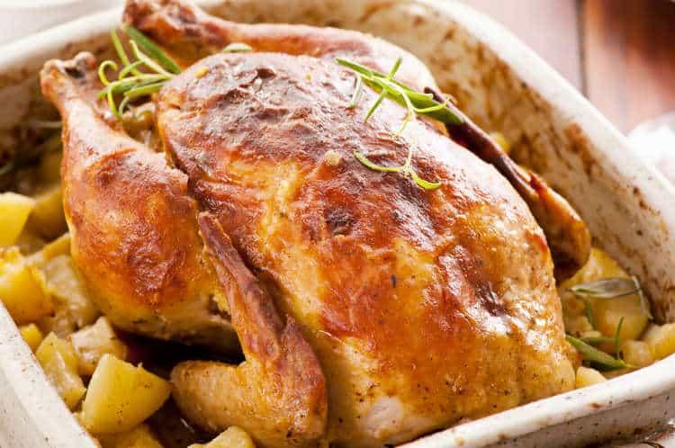 Greek Roast Chicken recipe (Kotopoulo sto fourno)