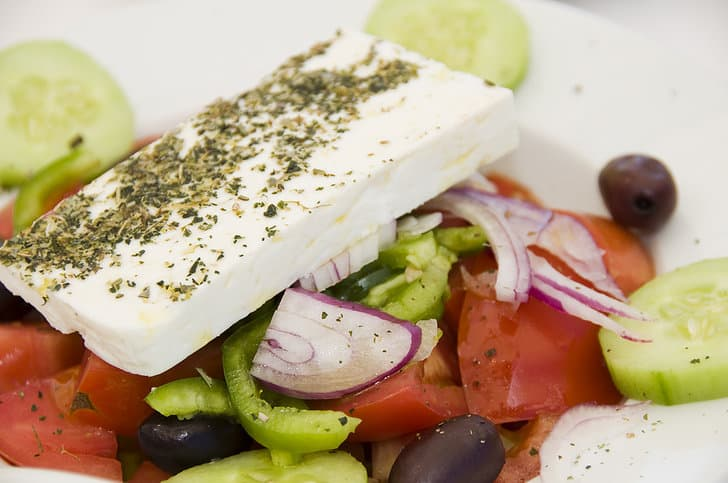Image of greek salad from MyGreekDish blog