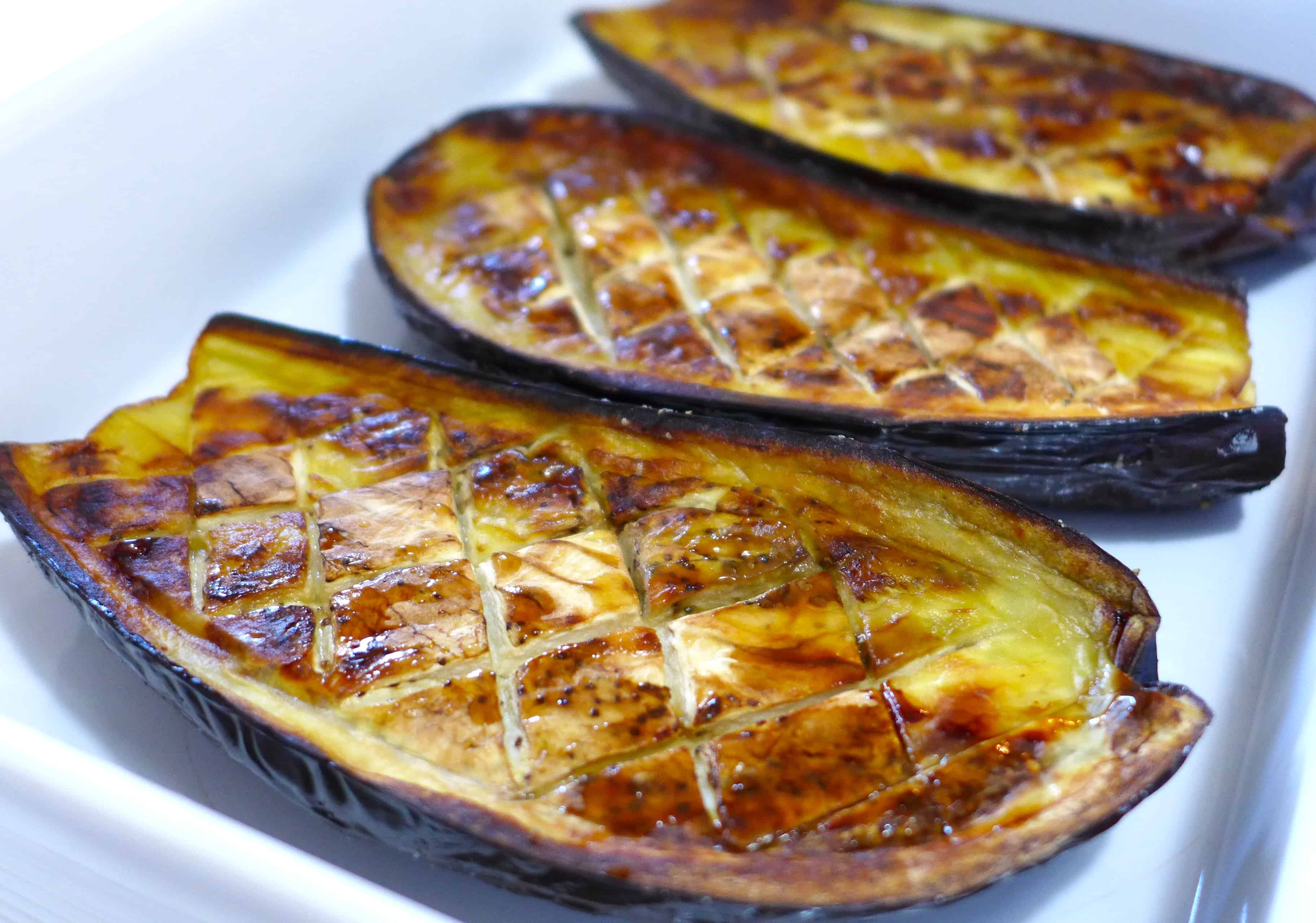 Greek stuffed Eggplant recipe (Melitzanes Papoutsakia ...