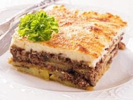Traditional Greek Moussaka Recipe Moussaka With Bechamel My Greek Dish