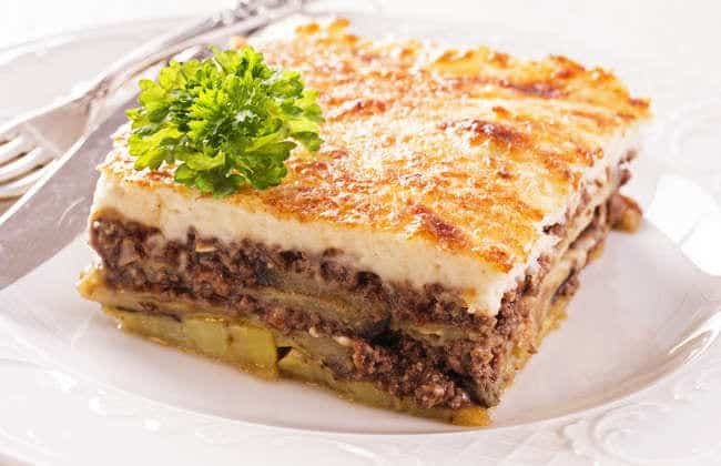 Traditional Greek Moussaka recipe (Moussaka with Béchamel)