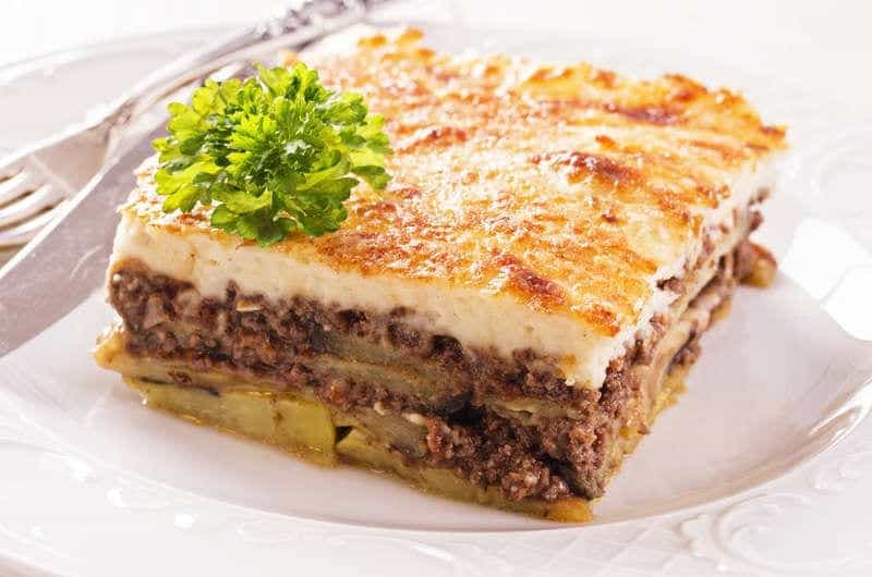 Traditional greek moussaka recipe moussaka with bchamel my traditional greek moussaka recipe moussaka with bchamel forumfinder Image collections