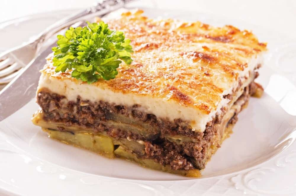 Traditional Greek Moussaka recipe (Moussaka with Béchamel) - My Greek ...