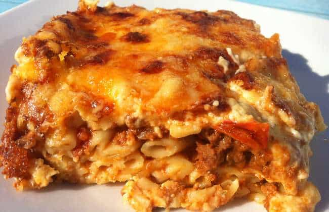 Greek Pastitsio / Pastichio recipe