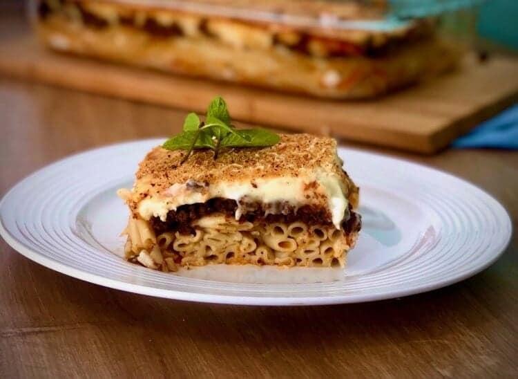 Greek Pastitsio / Pastichio recipe