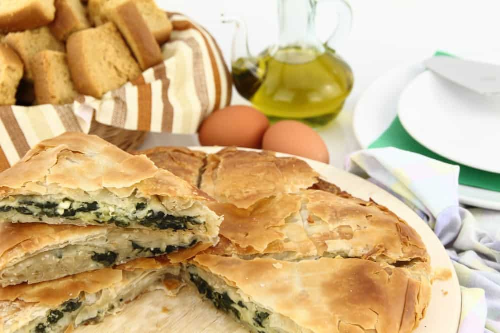 Easy spanakopita pie recipe