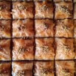 Traditional Greek Baklava Recipe with Walnuts and Honey
