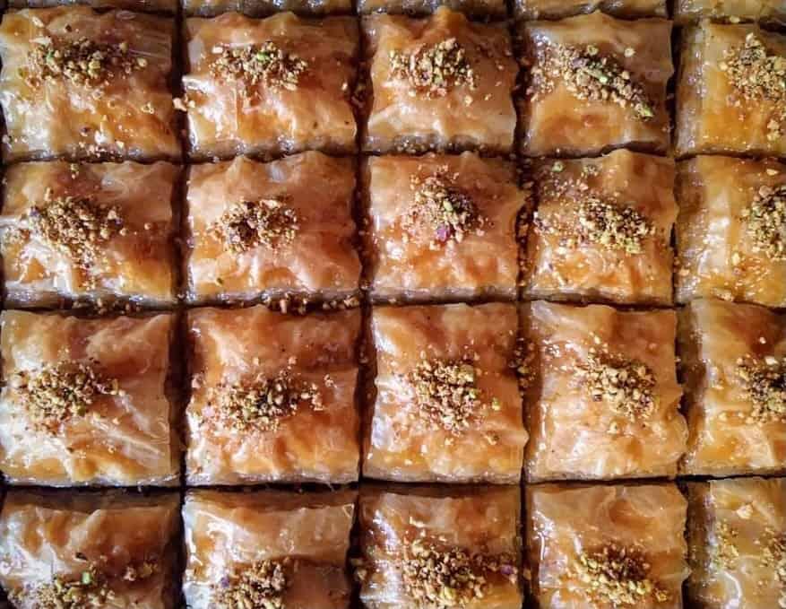 Traditional Greek Baklava Recipe With Walnuts And Honey My Greek Dish