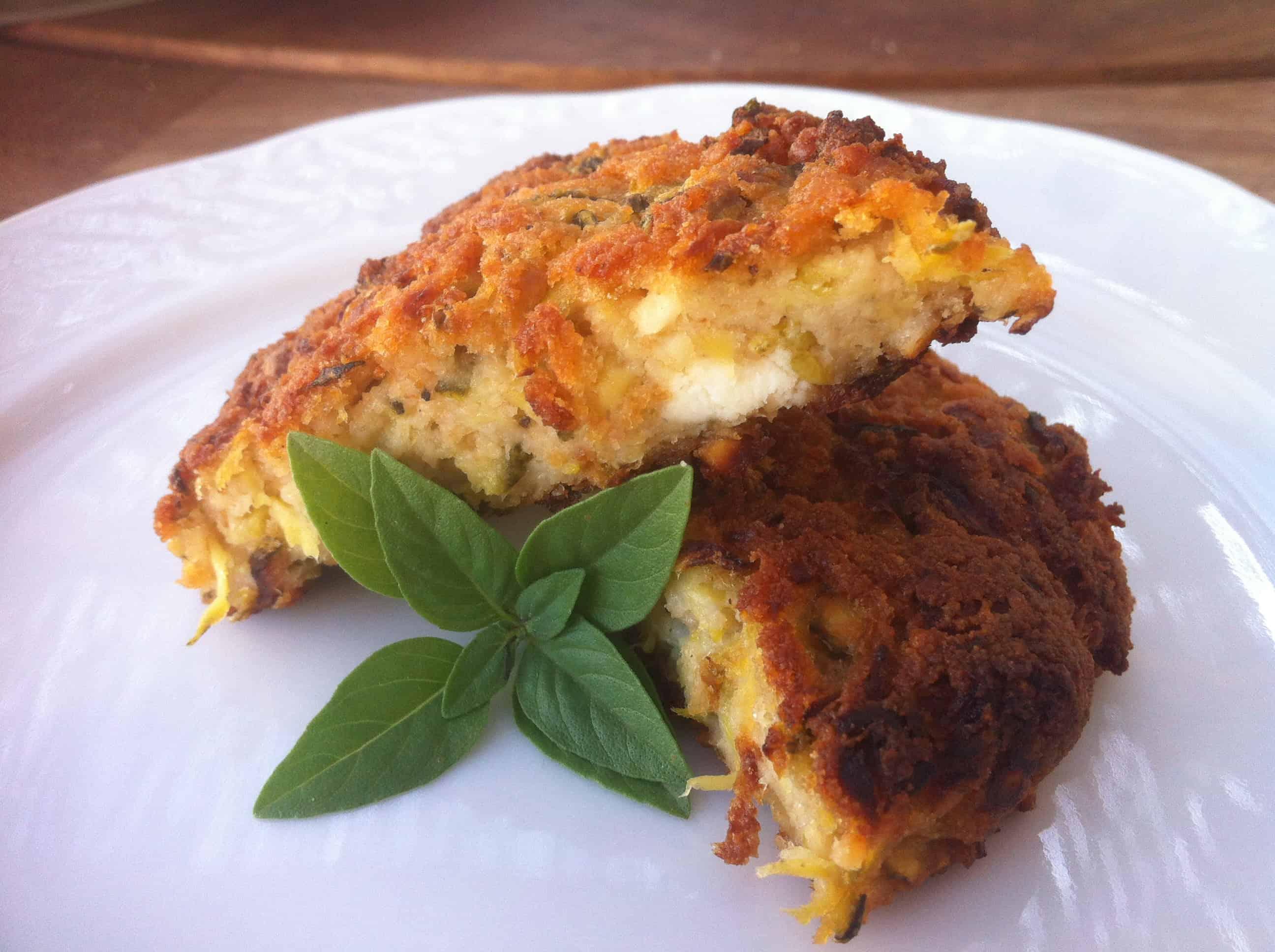 Kolokithokeftedes (Fried Zucchini Balls or Courgette) - My Greek Dish