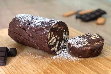 Mosaiko recipe (Greek Chocolate Biscuit Dessert)