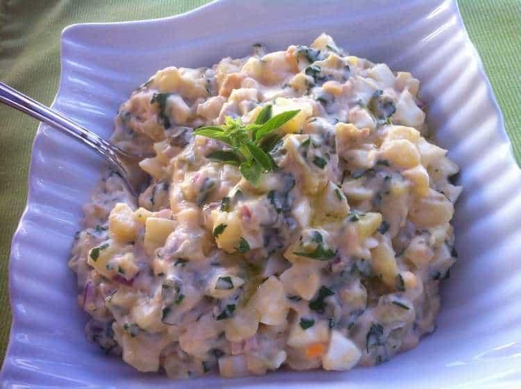 Patatosalata (Greek potato salad)