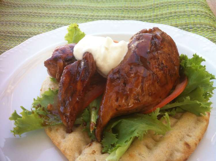 Chicken breasts with Tahini and Honey