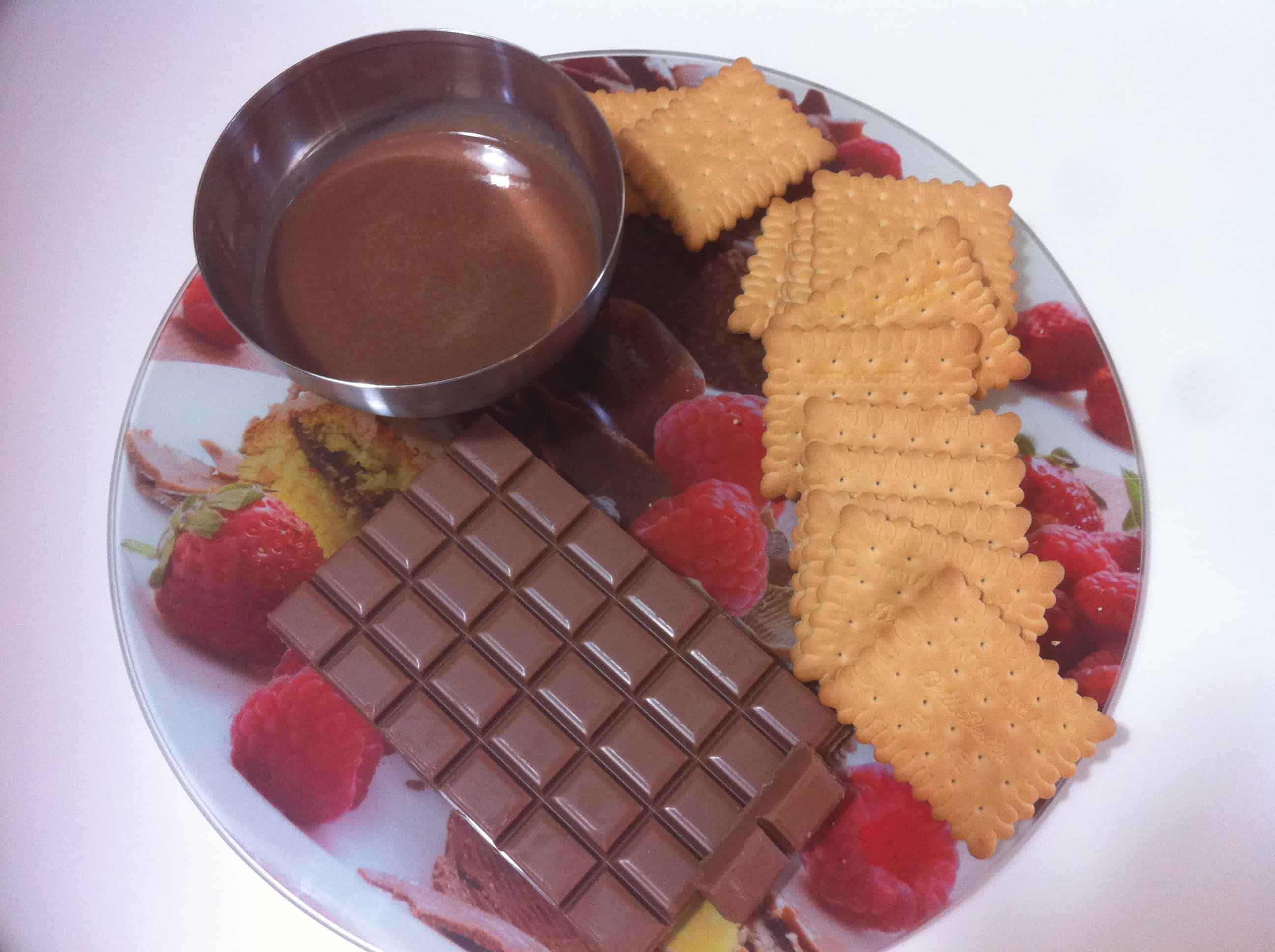 Chocolate and Petit Beurre Biscuit Cake with Praline Ganache - My ...