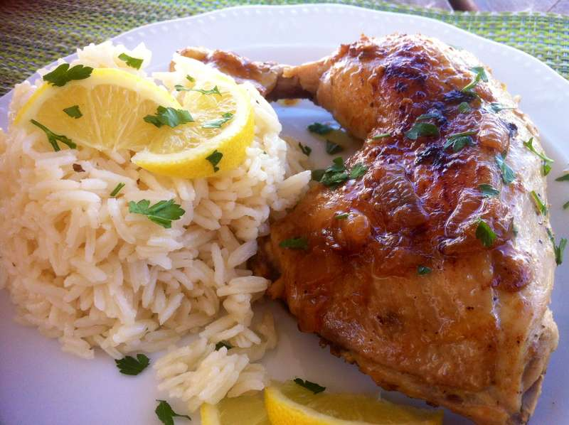 Crispy Greek Chicken Casserole with Creamy Lemon Sauce ...