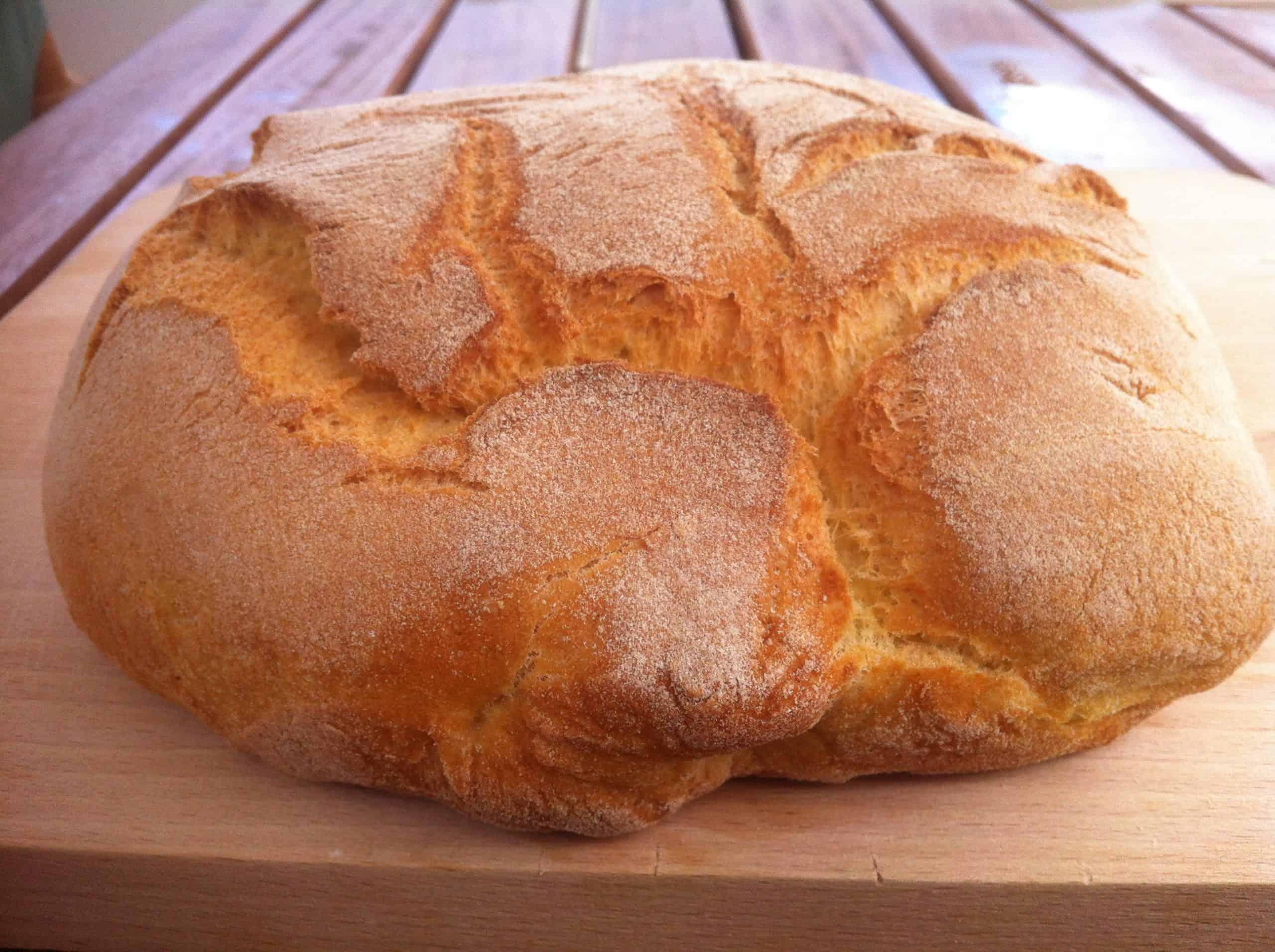 Self raising flour bread