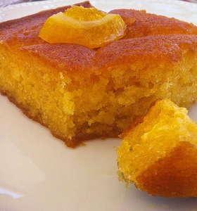 Greek Orange cake recipe (Portokalopita)