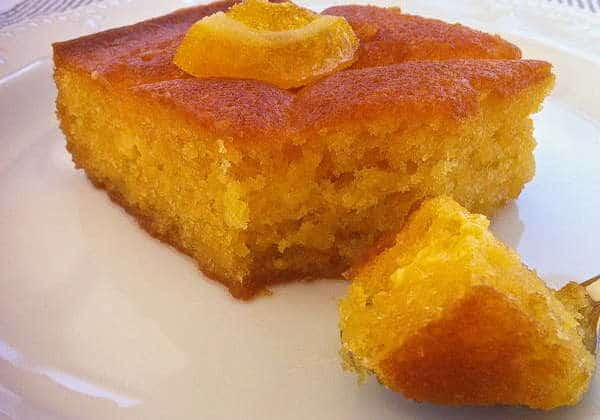 Lemon And Saffron Cake Recipe