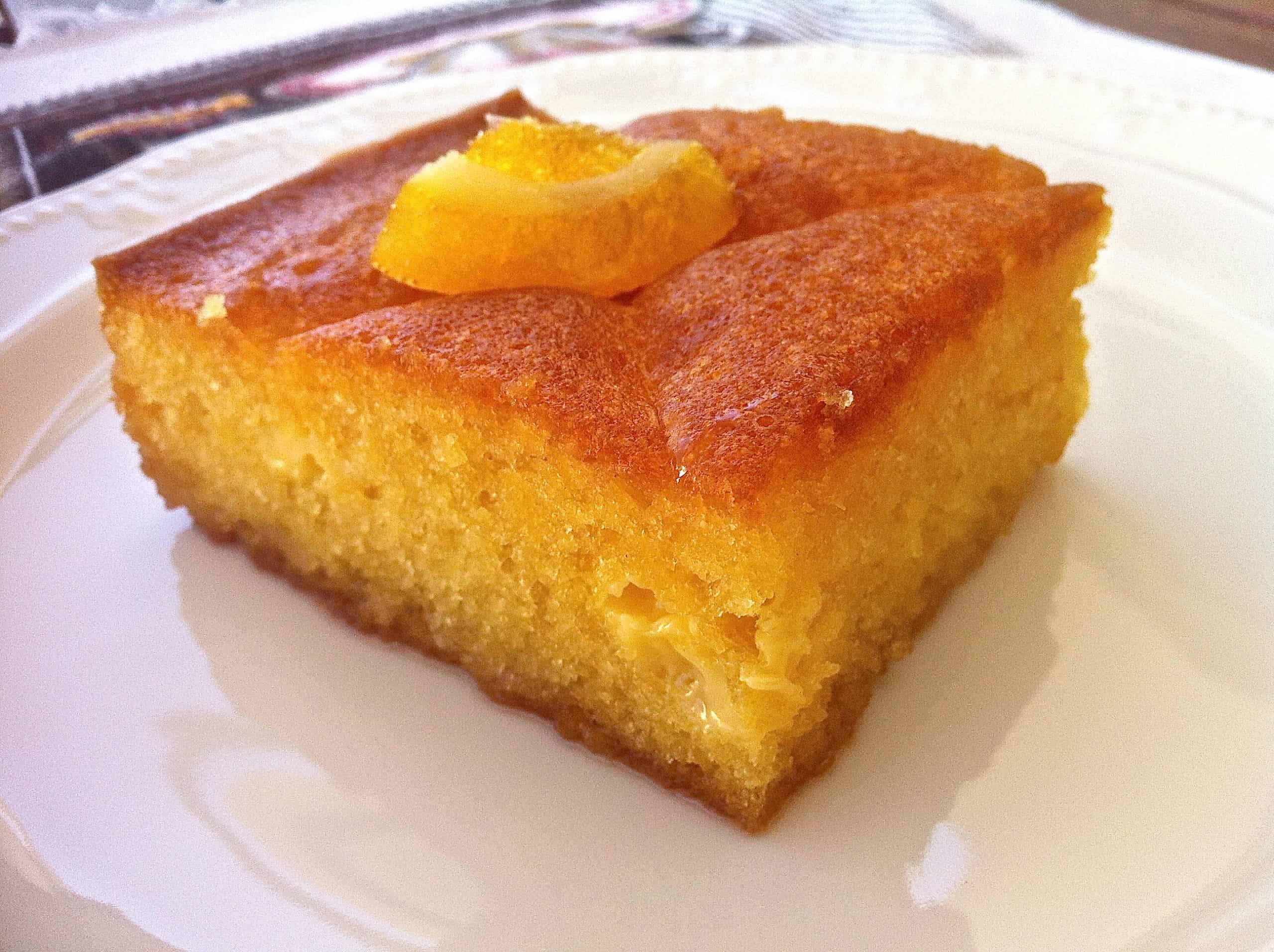Greek Orange Cake (Portokalopita)