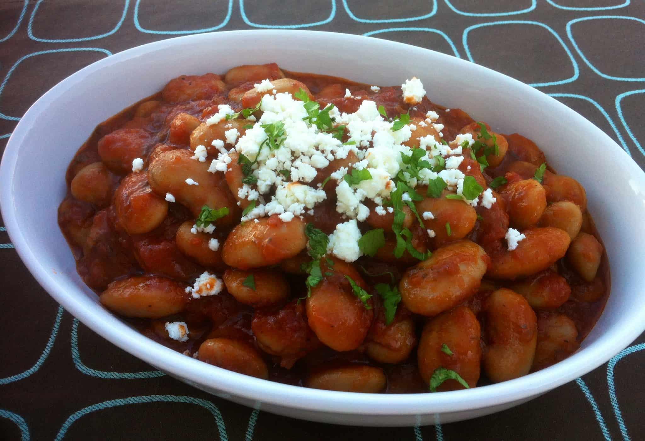 Gigantes Plaki recipe (Gigandes Greek Baked 'Giant' Beans) - My Greek...