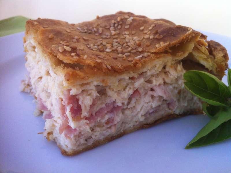 Greek Chicken Pie recipe (Kotopita)