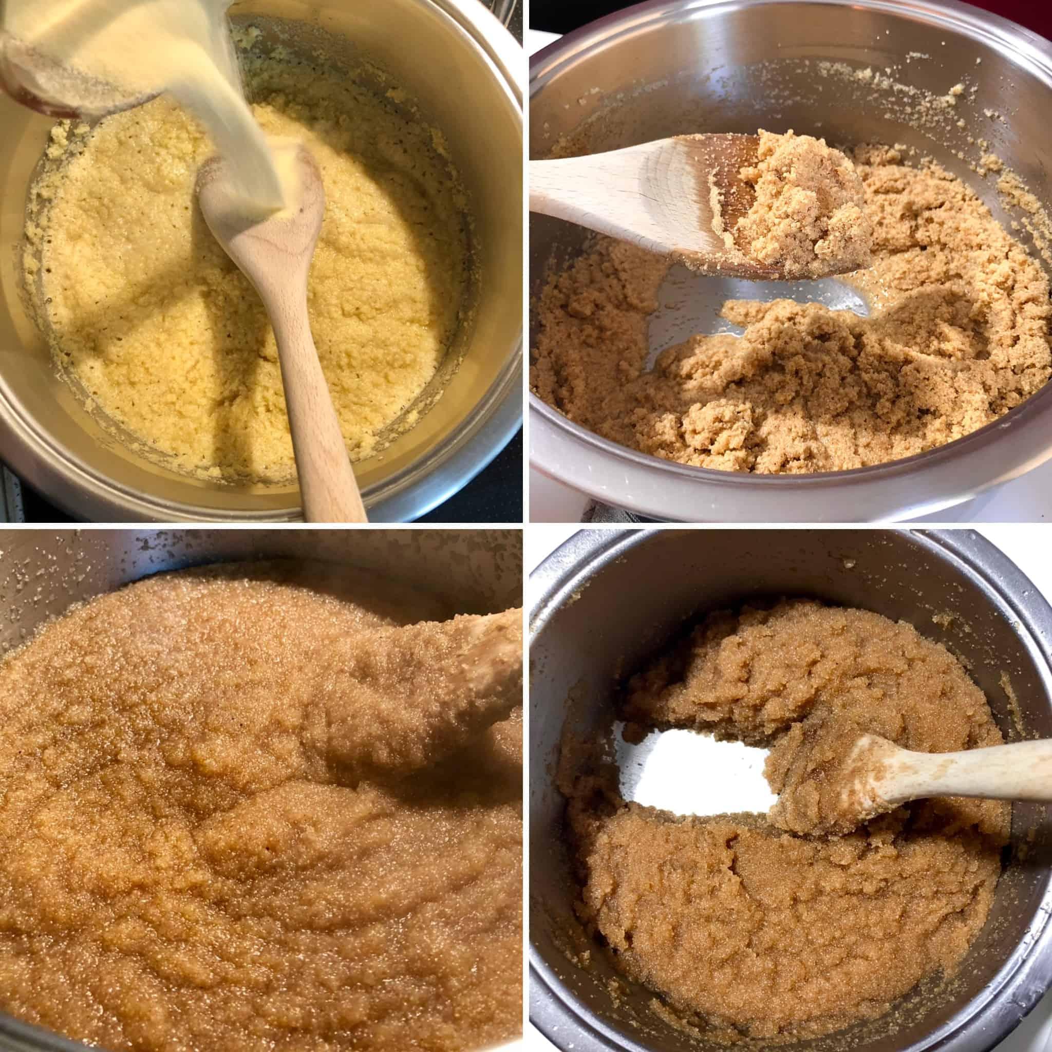 Greek Halva recipe preparation