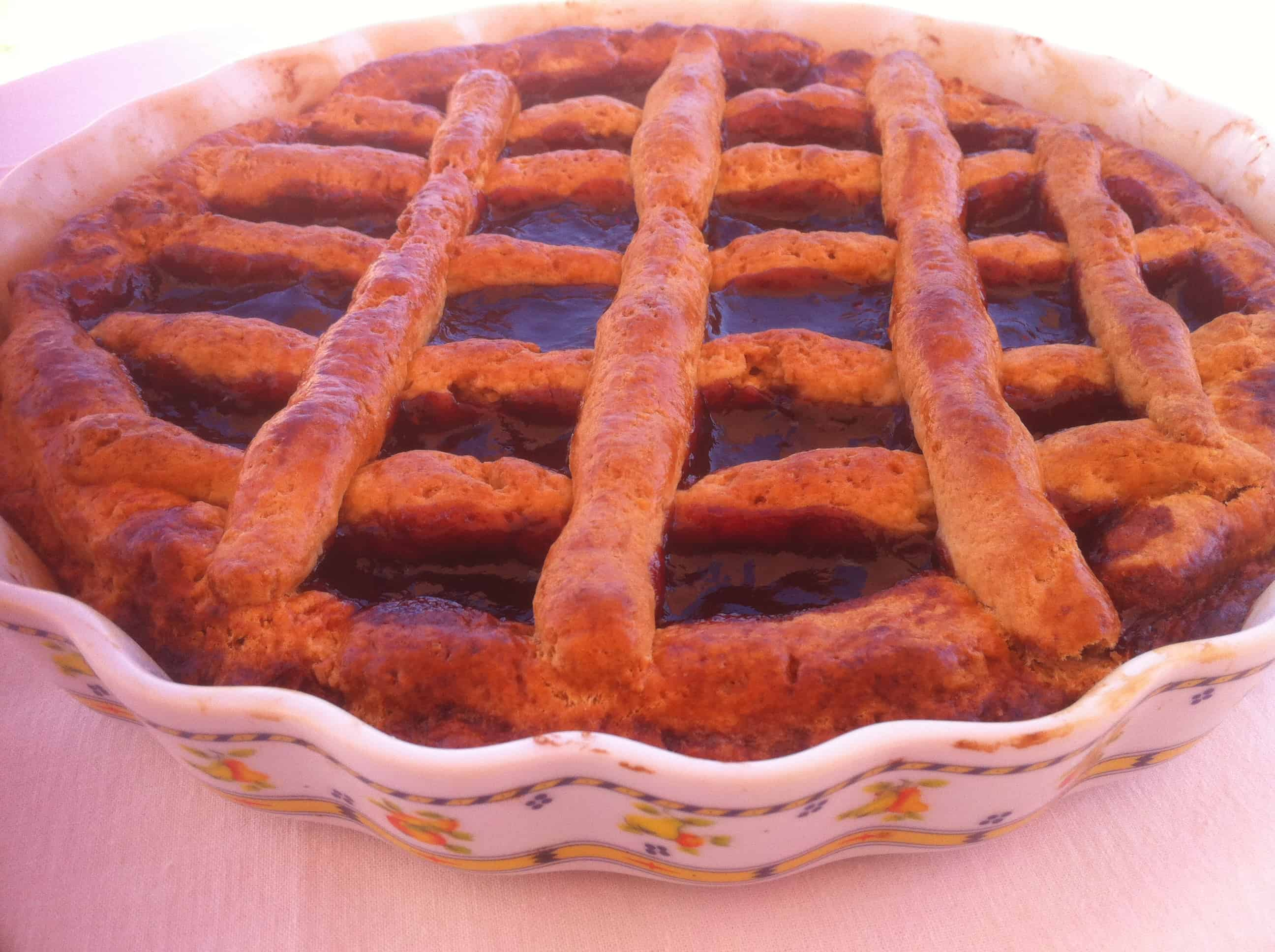 Пирог с вареньем фото рецепт пошагово