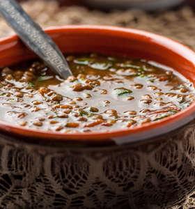 Greek Lentil Soup recipe (Fakes Soupa)