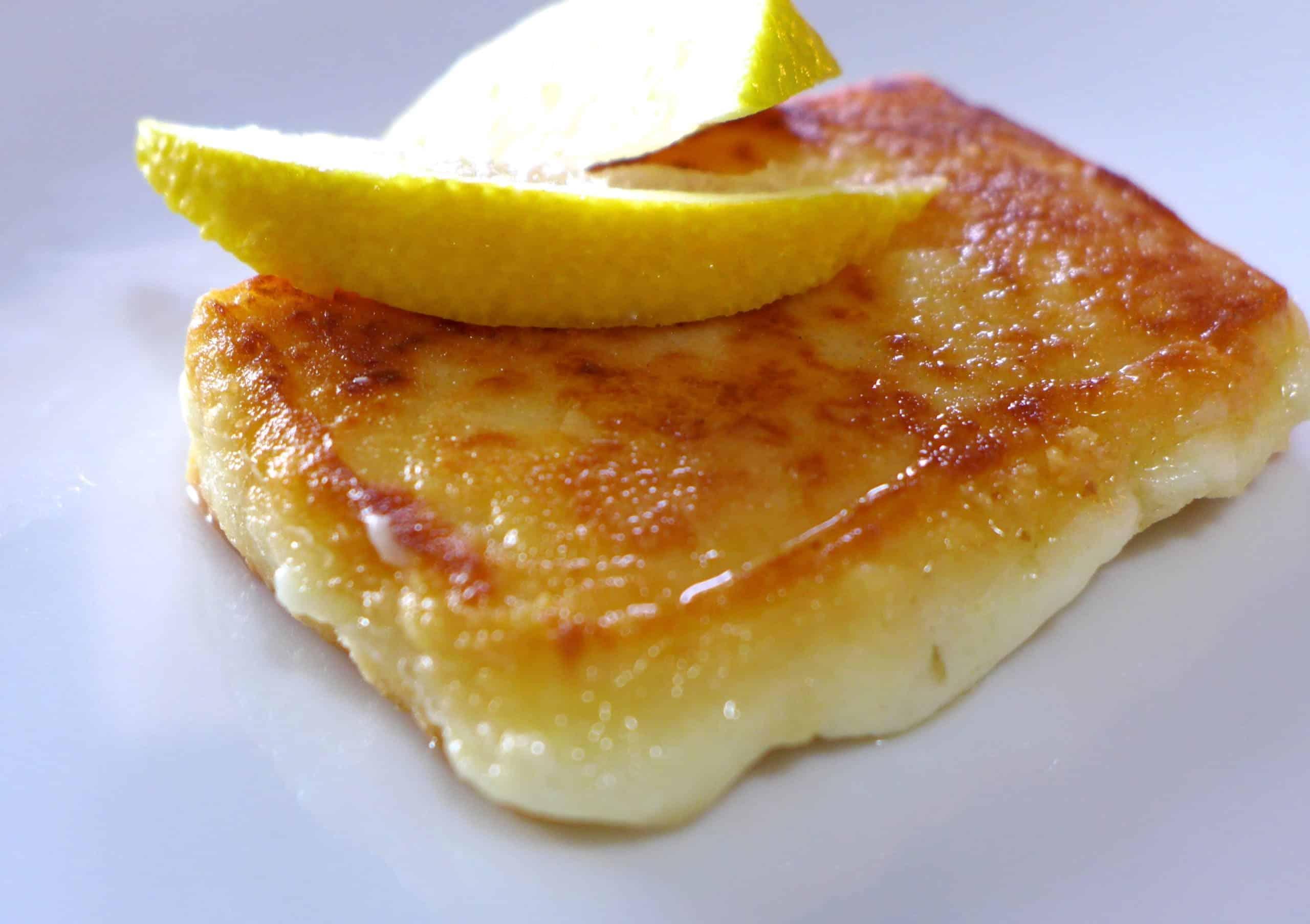 Saganaki Recipe Pan Seared Greek Cheese Appetizer My Greek Dish