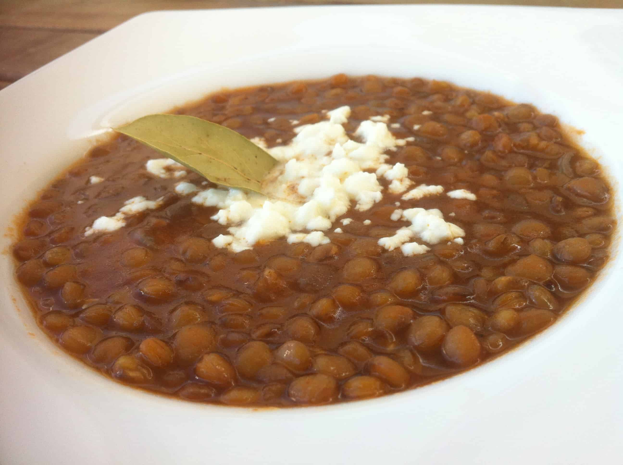 Greek Lentil Soup recipe (Fakes Soupa) - My Greek Dish