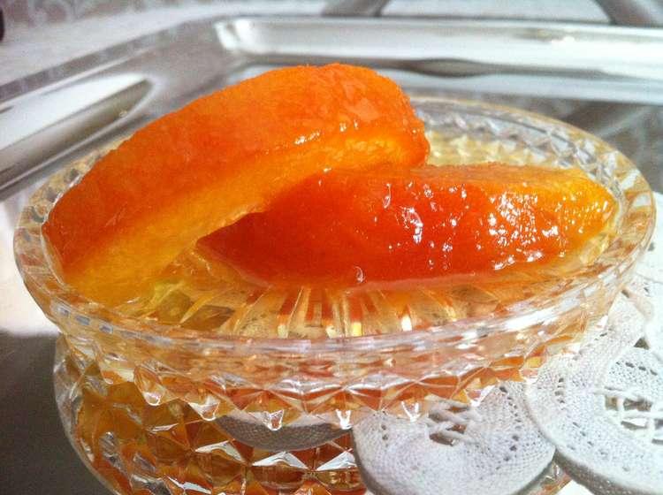 Orange Peel Sweet Preserve (Glyko koutaliou Portokali)