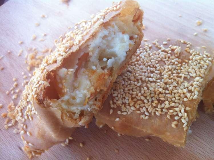 Homemade phyllo (filo) dough recipe