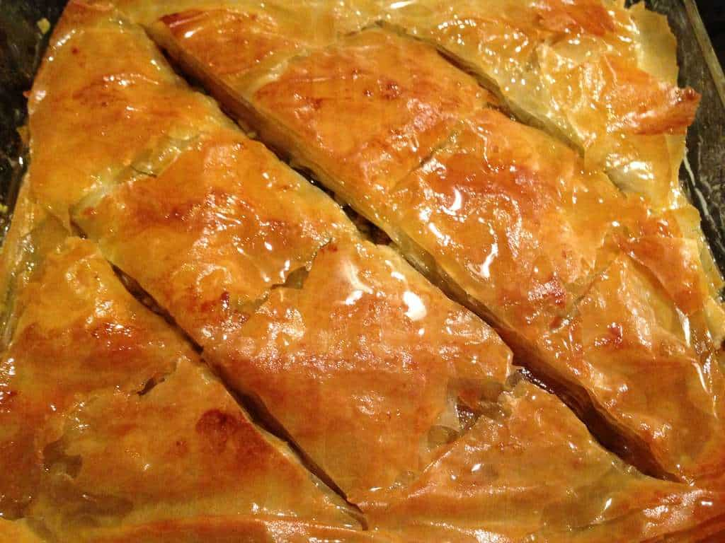 Greek Baklava recipe with Walnuts and Honey