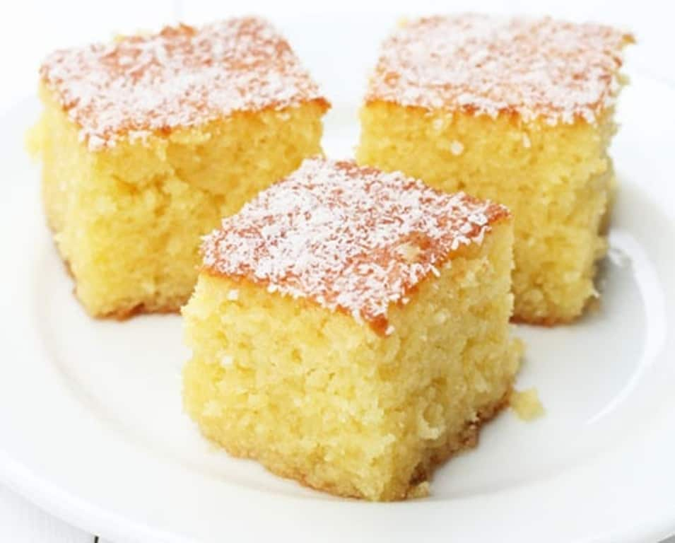 Greek Semolina Cake With Syrup Recipes