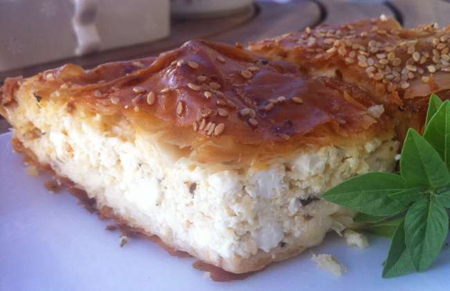 Tiropita (Greek Feta cheese Pie)
