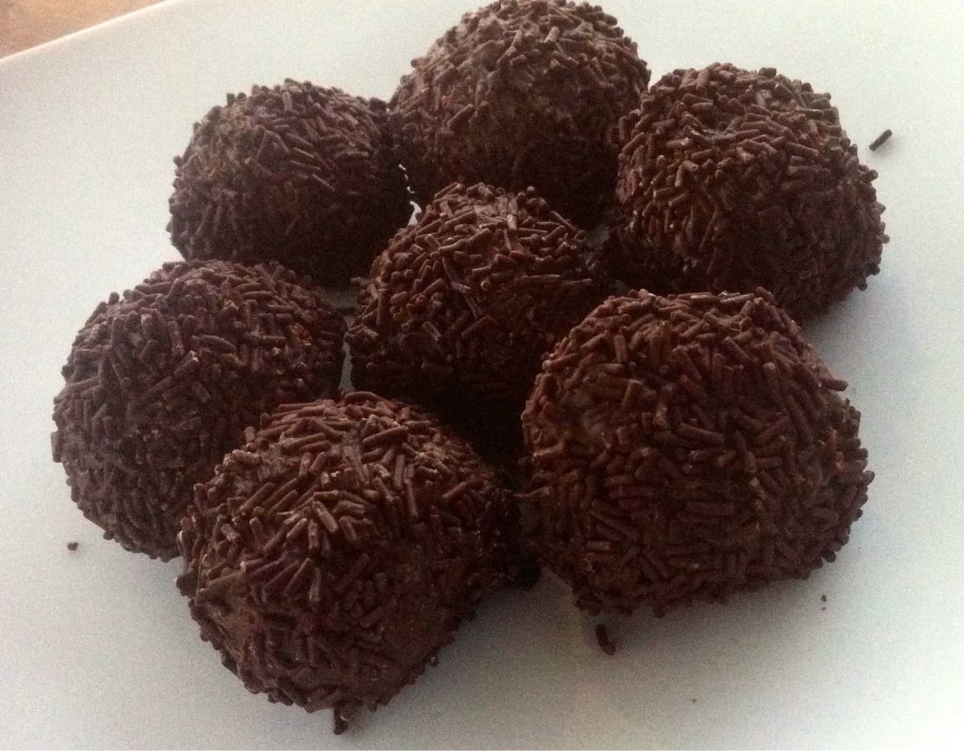 Greek Chocolate Truffles (Troufakia)-3 - My Greek Dish