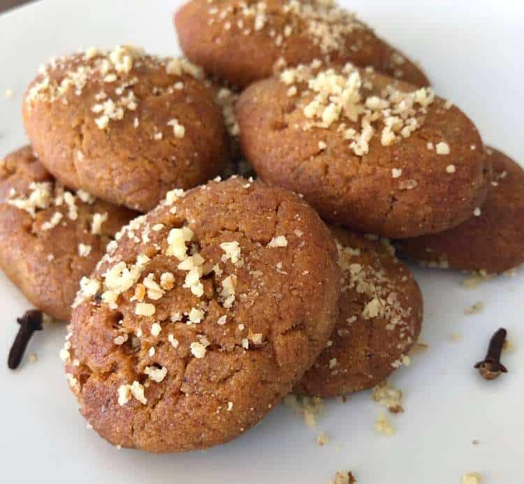 Melomakarona (Greek Christmas Honey Cookies)