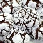 Snowy Chocolate Cookies!