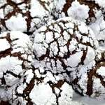 Snowy Chocolate Cookies!