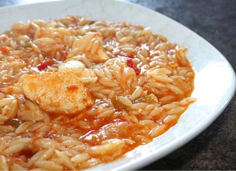 Easy chicken recipe with orzo pasta giouvetsi kotopoulo my greek easy chicken recipe with orzo pasta giouvetsi kotopoulo forumfinder