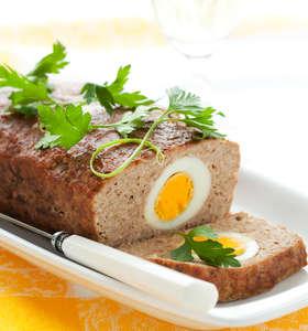 Greek Meatloaf stuffed with Eggs (Rolo Kima)